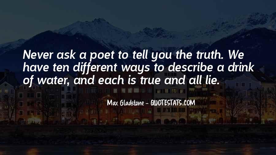 Max Gladstone Quotes #1456610