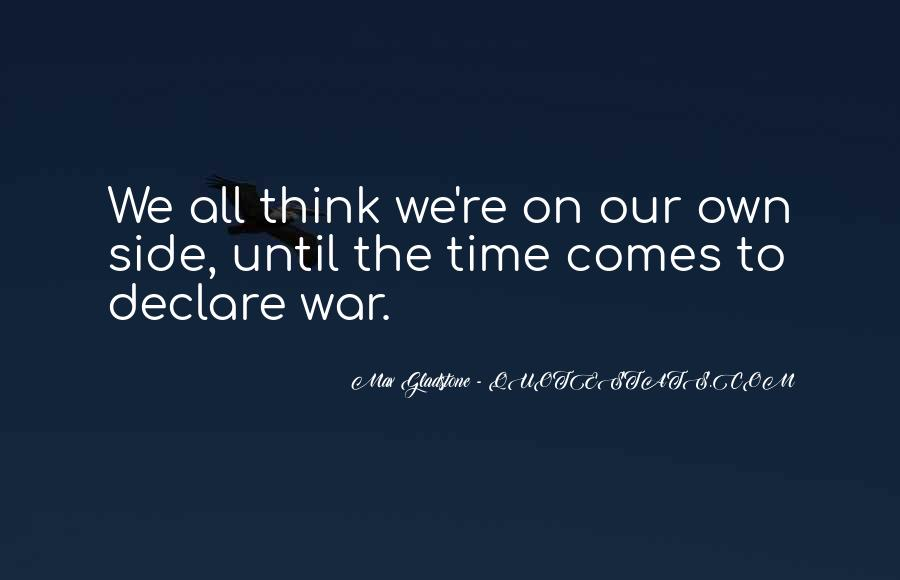 Max Gladstone Quotes #589902