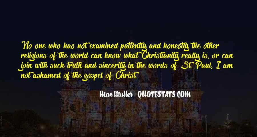 Max Muller Quotes #657297