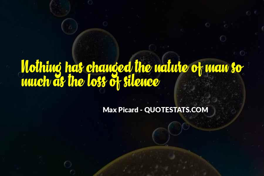 Max Picard Quotes #1212631
