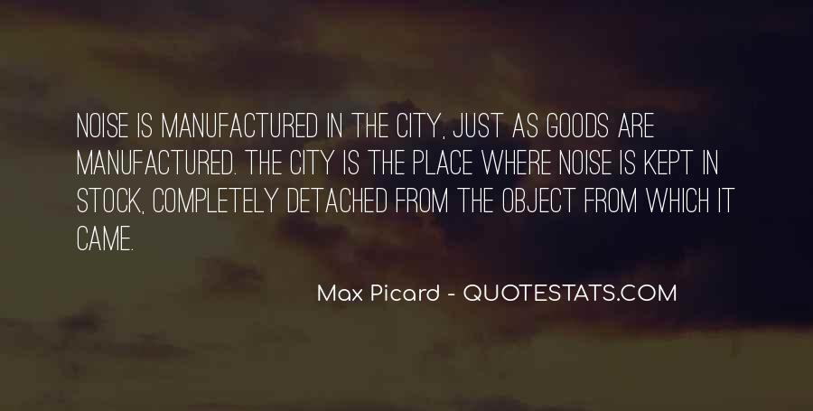 Max Picard Quotes #1360074