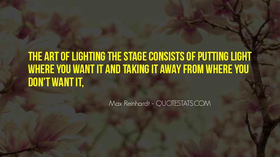 Max Reinhardt Quotes #1818078