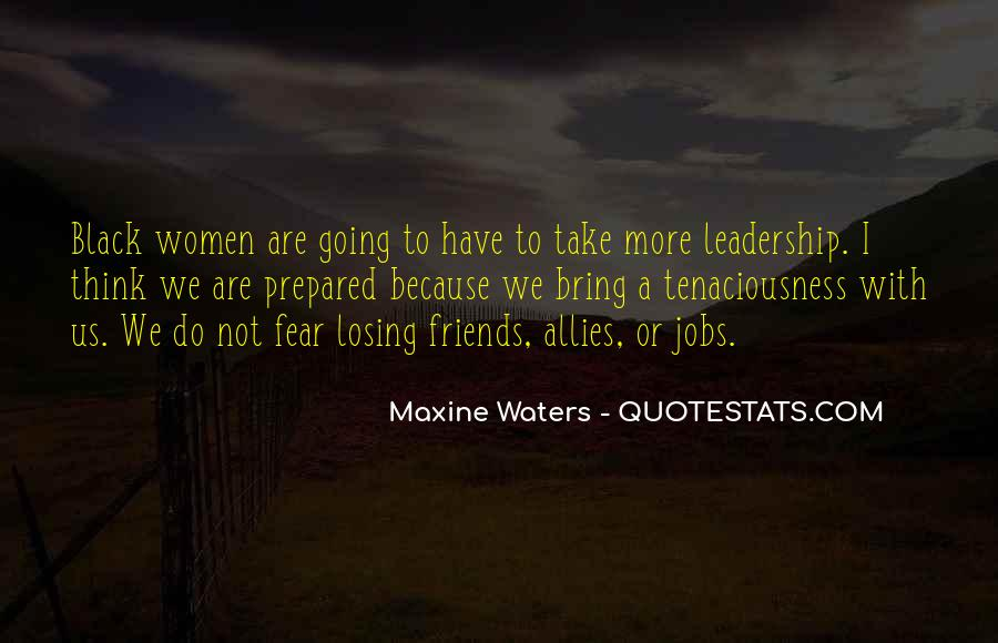 Maxine Waters Quotes #605306