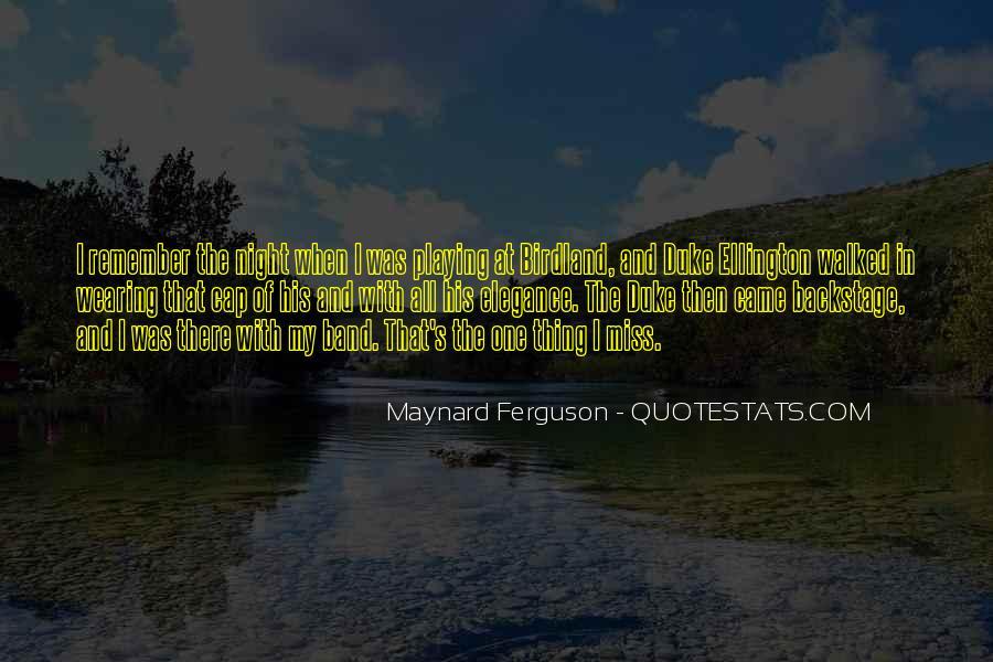 Maynard Ferguson Quotes #1126972
