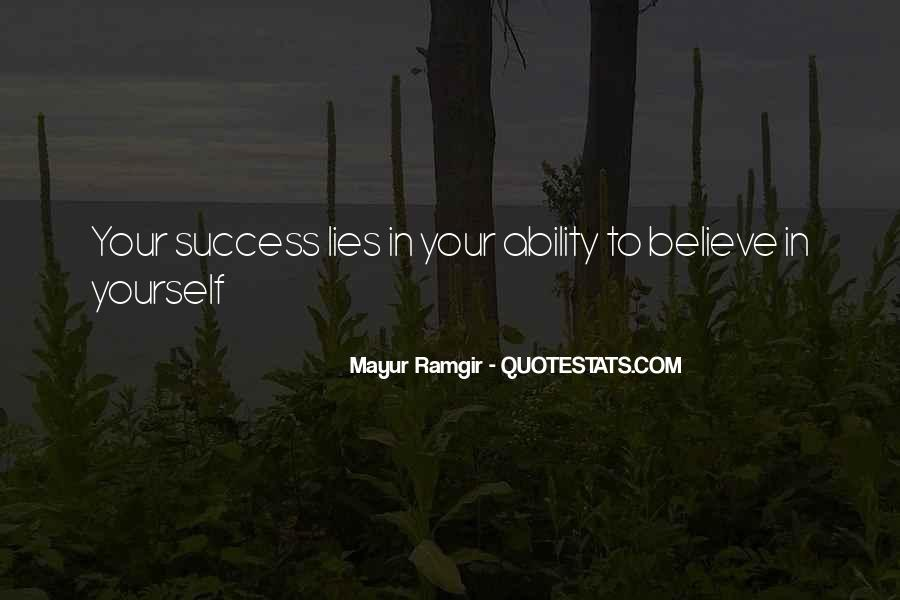 Mayur Ramgir Quotes #571220