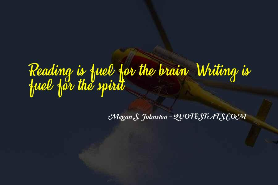 Megan S. Johnston Quotes #276805