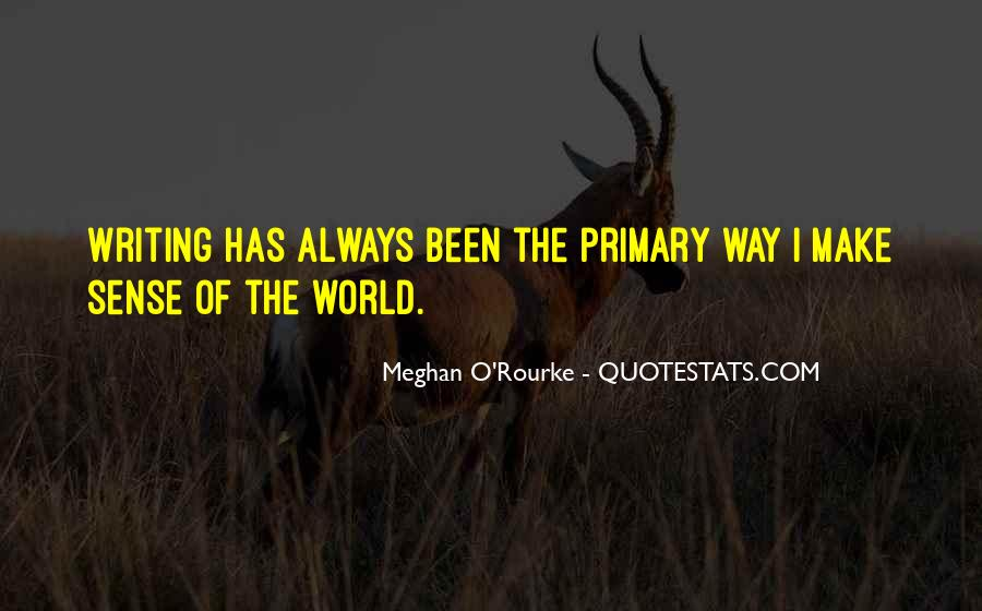 Meghan O'Rourke Quotes #153016