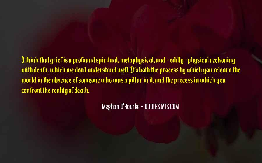 Meghan O'Rourke Quotes #985814