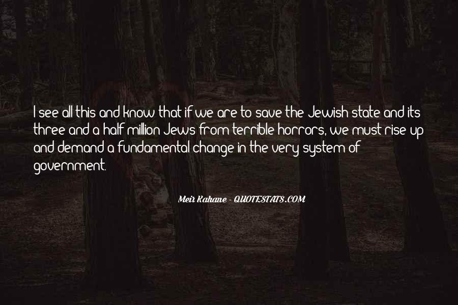 Meir Kahane Quotes #137431