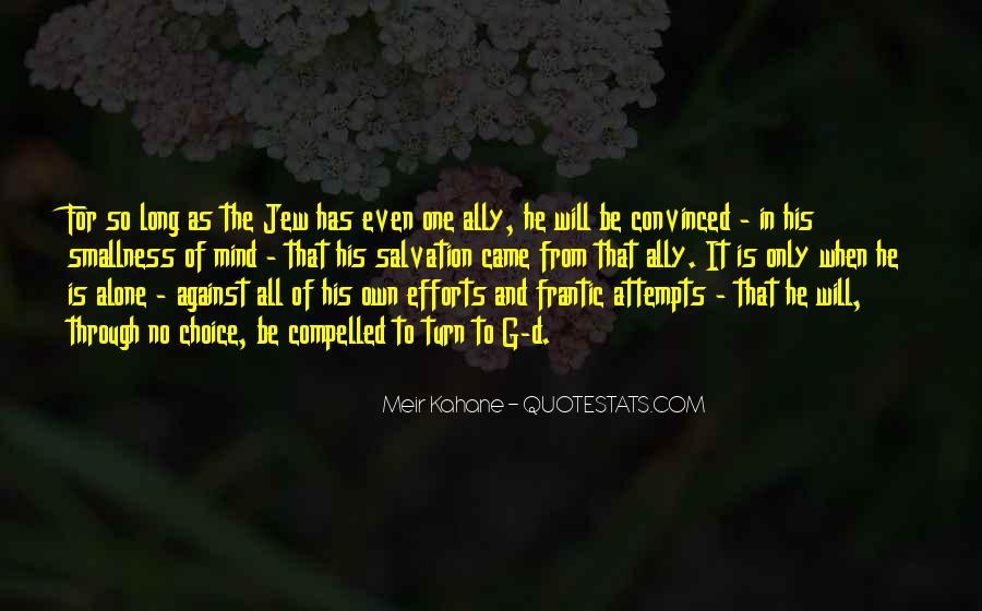Meir Kahane Quotes #329312