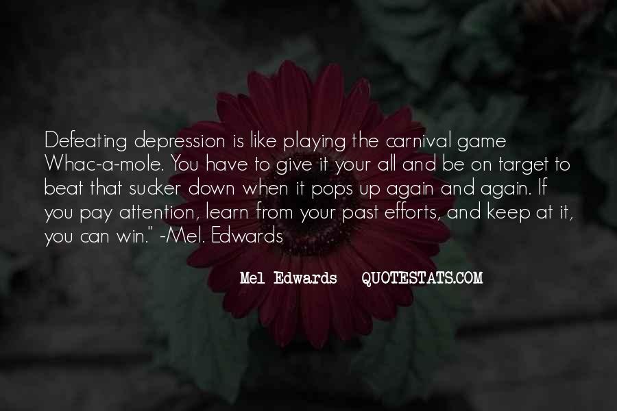 Mel Edwards Quotes #223955