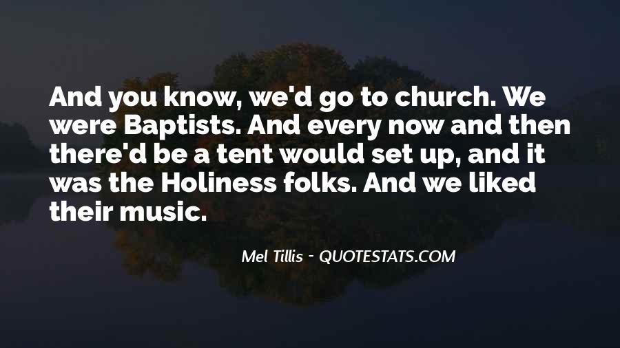 Mel Tillis Quotes #1255573
