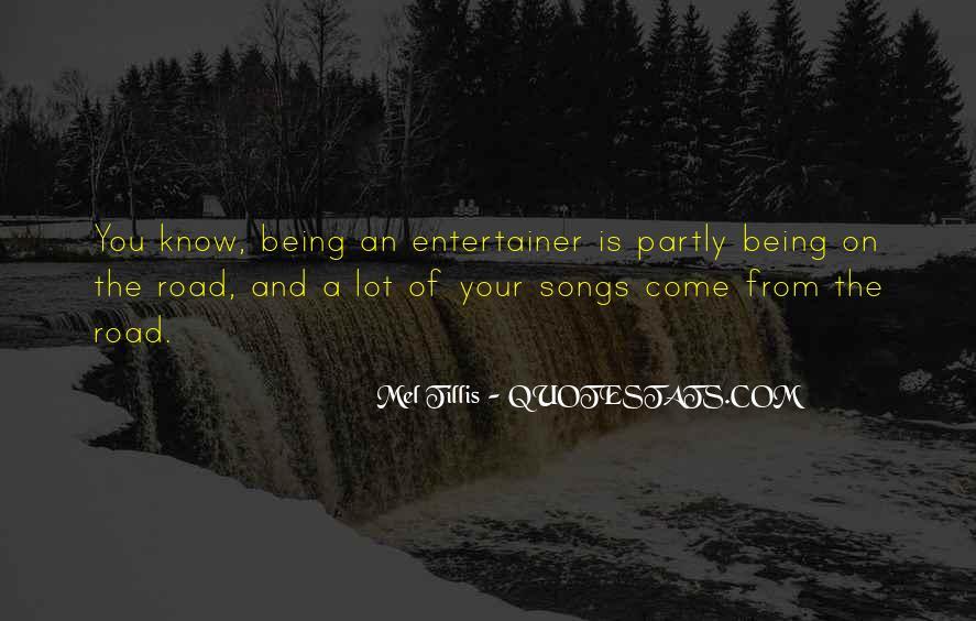 Mel Tillis Quotes #1435076