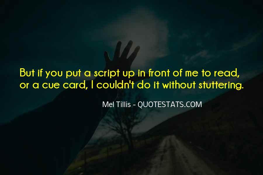 Mel Tillis Quotes #1596178