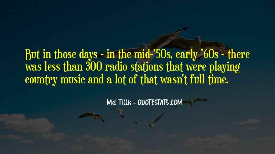 Mel Tillis Quotes #715694