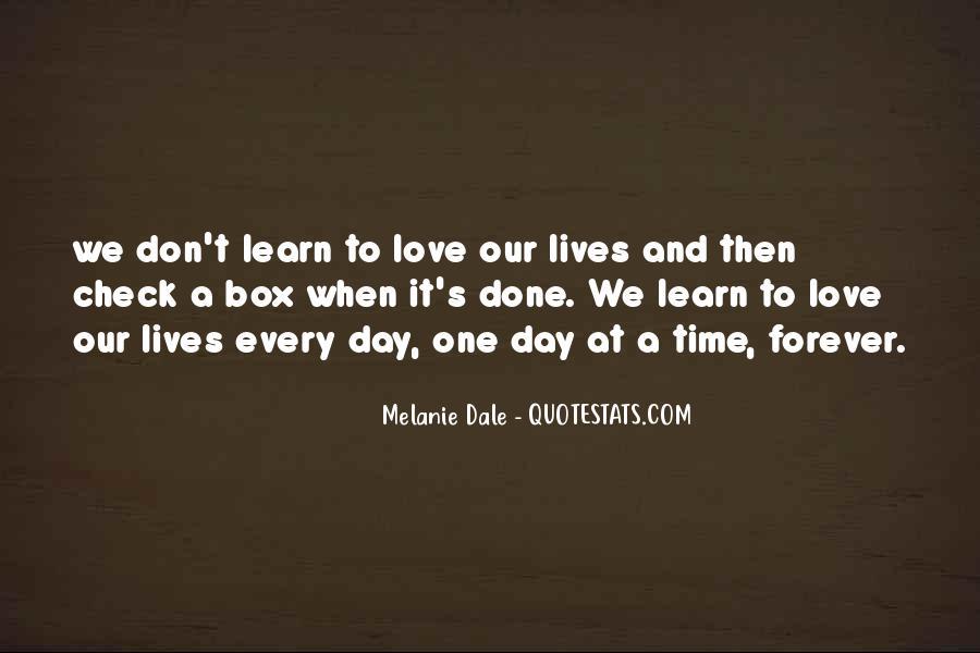 Melanie Dale Quotes #1071827