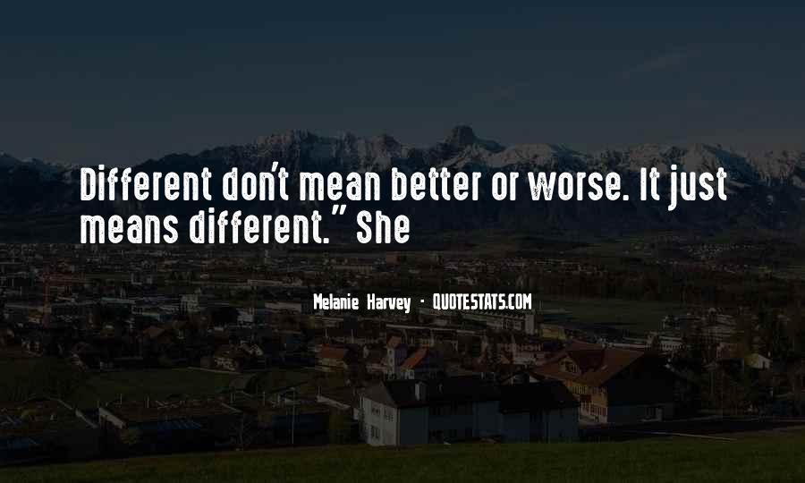 Melanie Harvey Quotes #1364615
