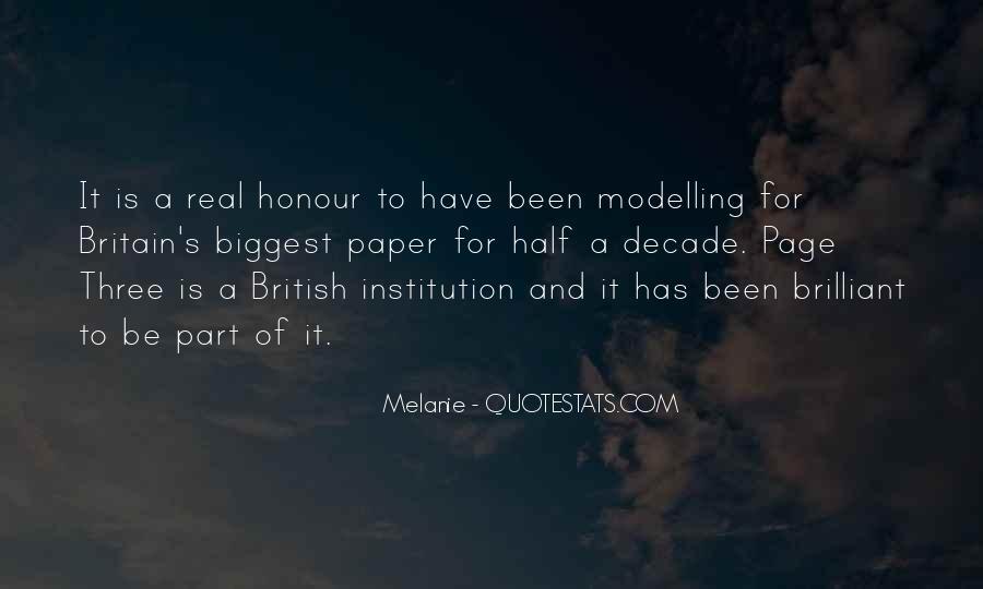 Melanie Quotes #1456986