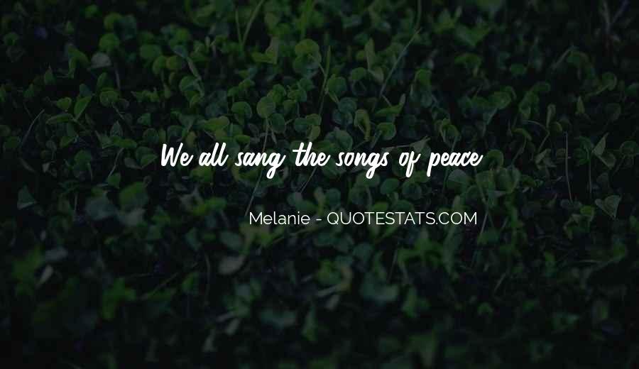 Melanie Quotes #764066