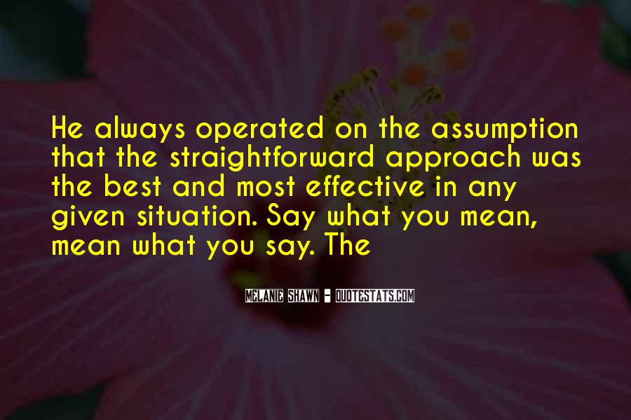 Melanie Shawn Quotes #283886