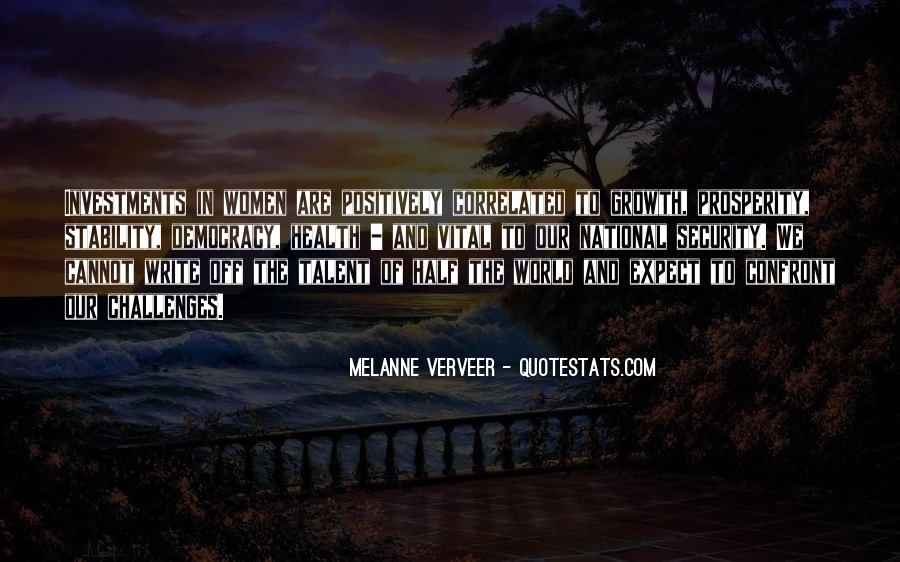 Melanne Verveer Quotes #201989