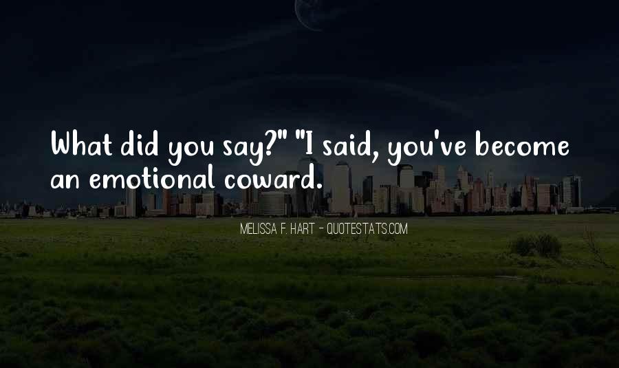 Melissa F. Hart Quotes #1702648