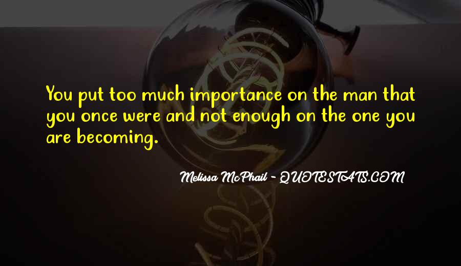 Melissa McPhail Quotes #190934