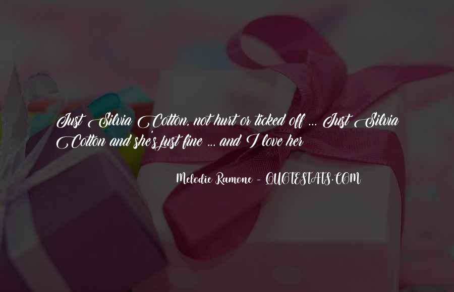 Melodie Ramone Quotes #1036450
