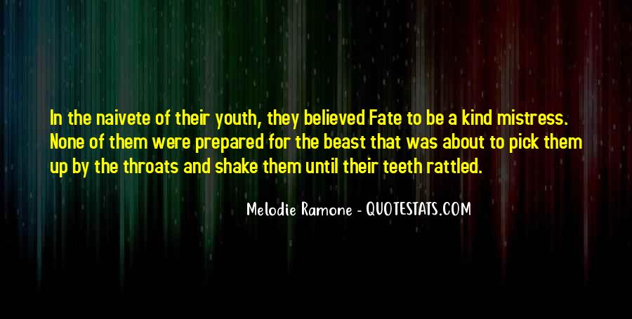 Melodie Ramone Quotes #1525961