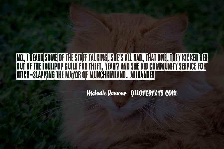 Melodie Ramone Quotes #284718