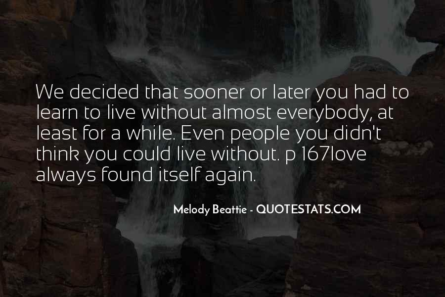 Melody Beattie Quotes #134732