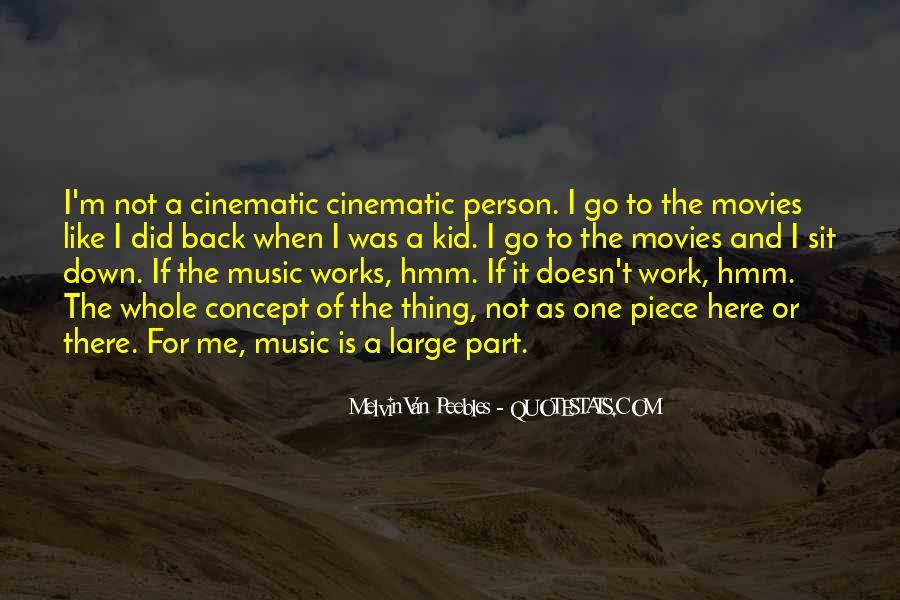 Melvin Van Peebles Quotes #1230876