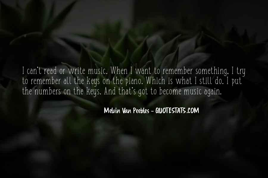 Melvin Van Peebles Quotes #659467