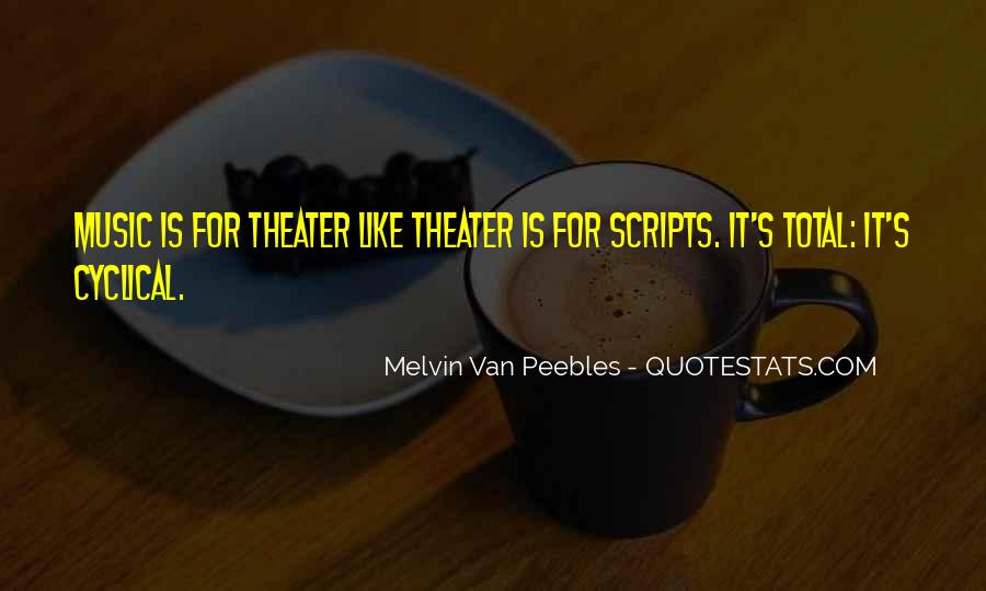 Melvin Van Peebles Quotes #995540