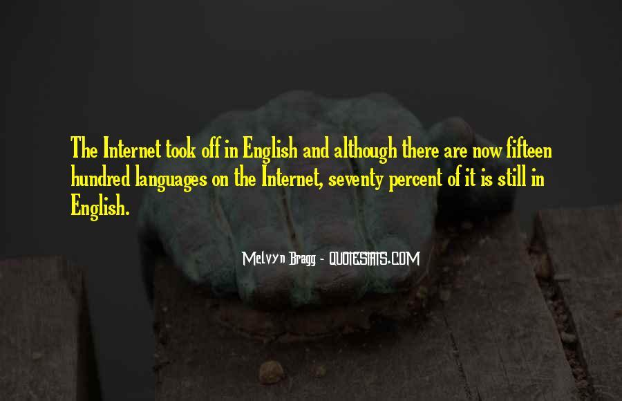 Melvyn Bragg Quotes #1364102