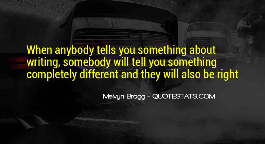 Melvyn Bragg Quotes #454084