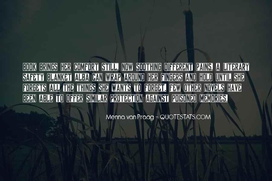 Menna Van Praag Quotes #1311277