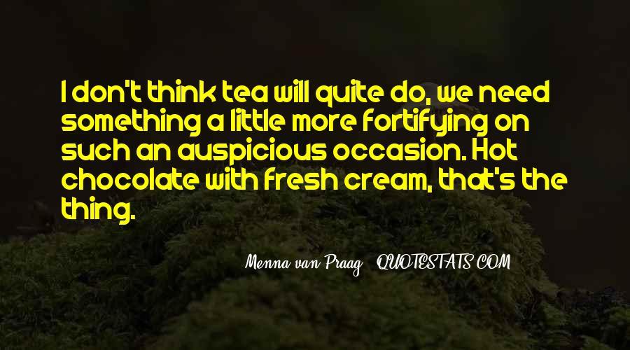 Menna Van Praag Quotes #1342462