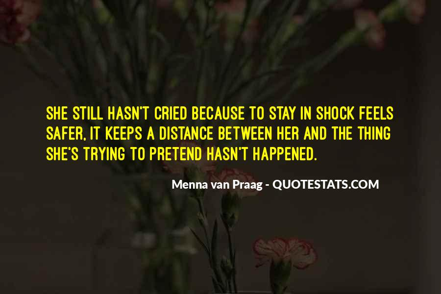 Menna Van Praag Quotes #1638764