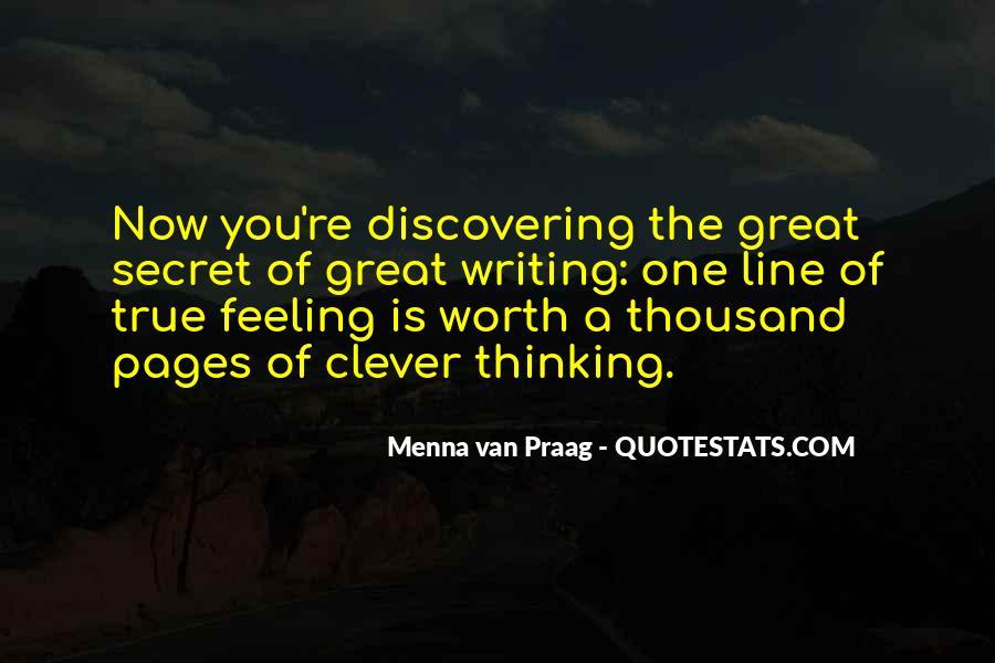 Menna Van Praag Quotes #1733880
