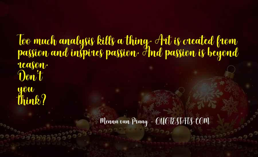 Menna Van Praag Quotes #250096