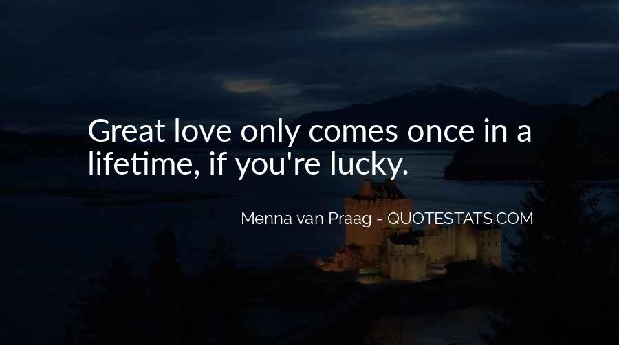 Menna Van Praag Quotes #366453