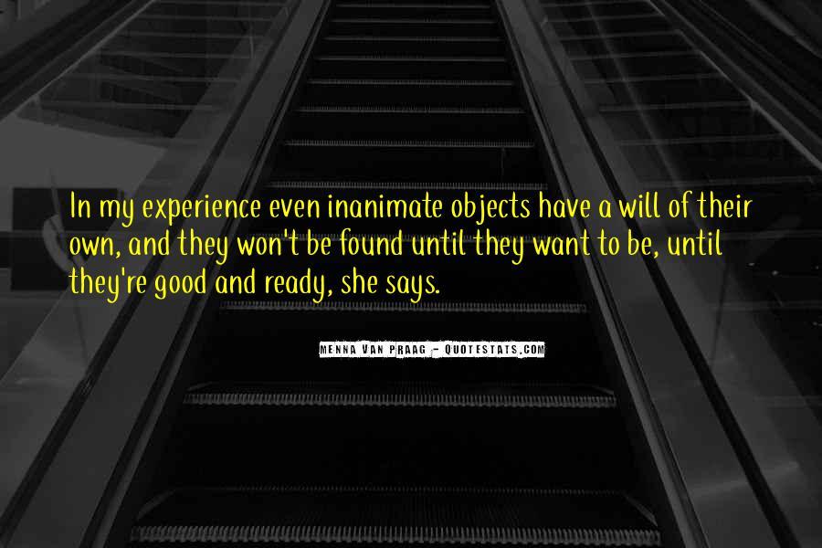 Menna Van Praag Quotes #479018