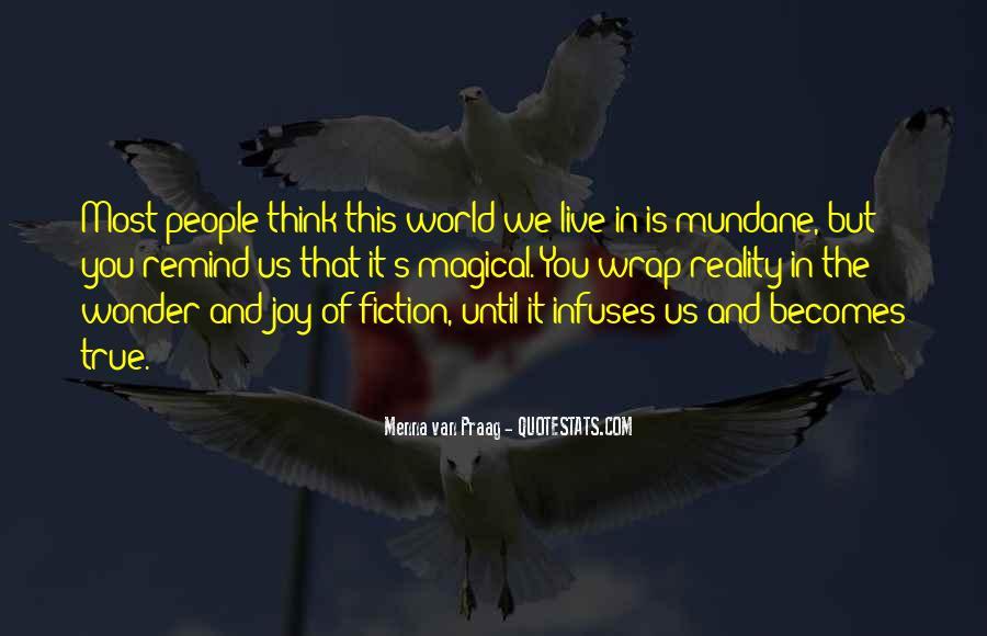 Menna Van Praag Quotes #608844