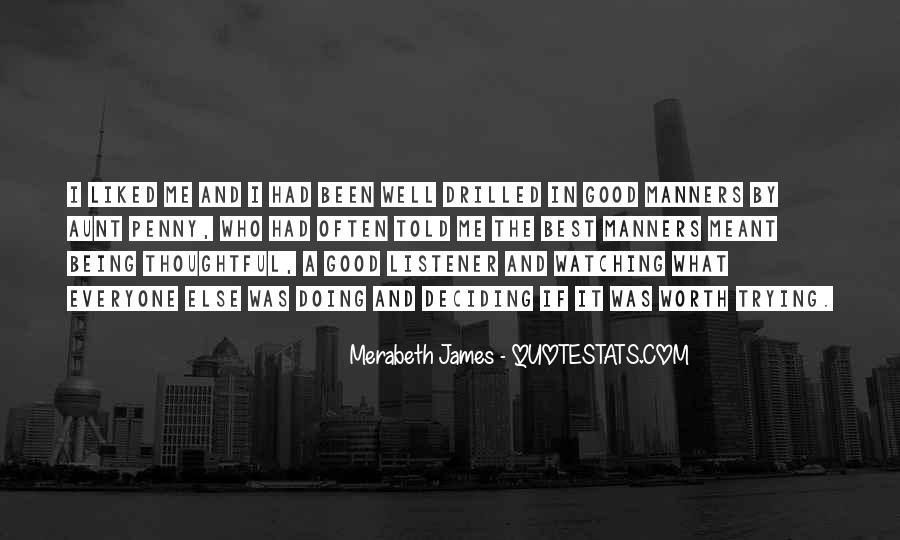 Merabeth James Quotes #1437075