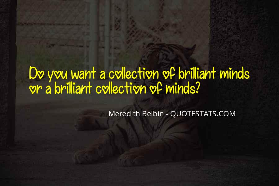 Meredith Belbin Quotes #1475757
