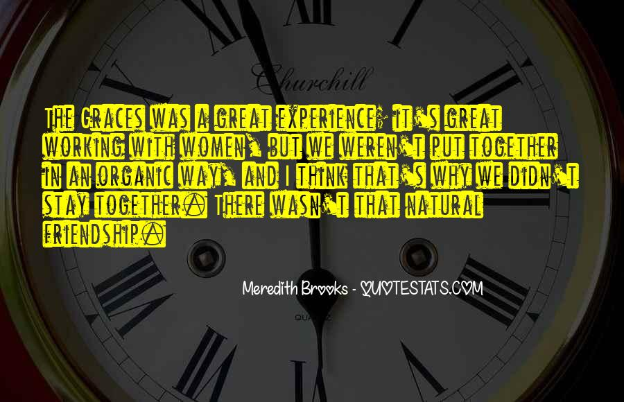 Meredith Brooks Quotes #1000280