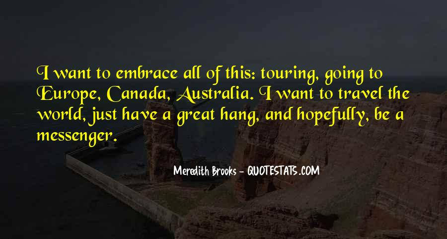Meredith Brooks Quotes #1442400