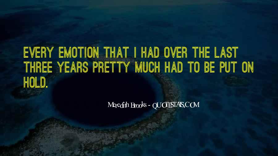 Meredith Brooks Quotes #165560