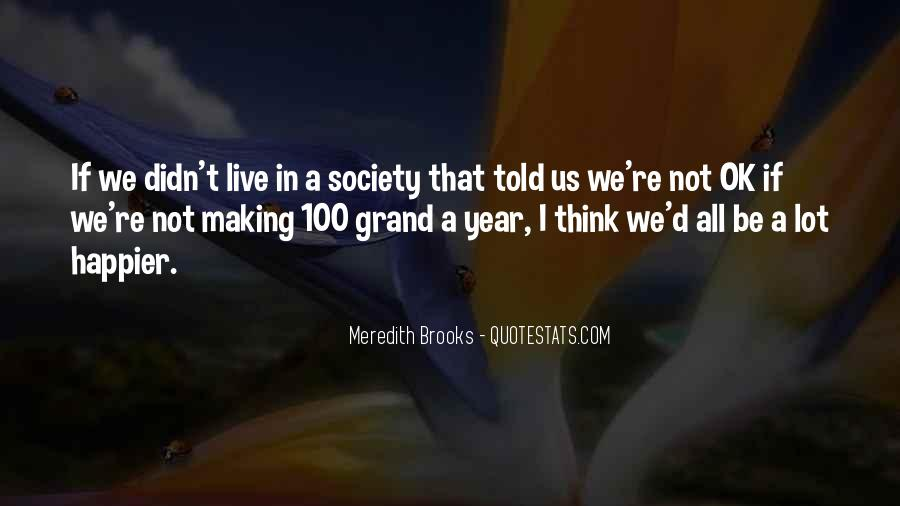Meredith Brooks Quotes #553065